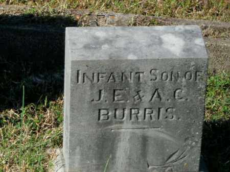 BURRIS, INFANT SON - Pope County, Arkansas | INFANT SON BURRIS - Arkansas Gravestone Photos