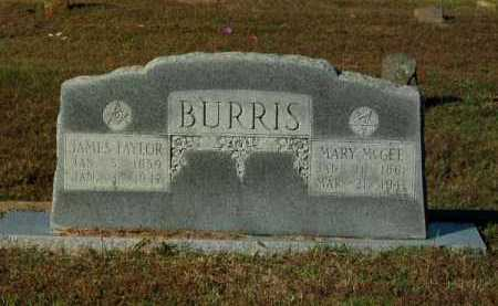 MCGEE BURRIS, MARY - Pope County, Arkansas | MARY MCGEE BURRIS - Arkansas Gravestone Photos