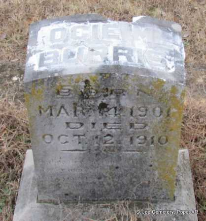 BURRIS, OCIE MYRTIS - Pope County, Arkansas | OCIE MYRTIS BURRIS - Arkansas Gravestone Photos