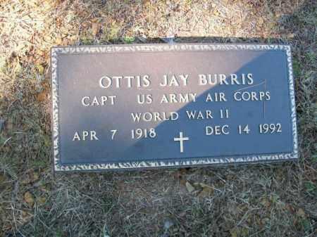 BURRIS (VETERAN WWII), OTTIS JAY - Pope County, Arkansas | OTTIS JAY BURRIS (VETERAN WWII) - Arkansas Gravestone Photos