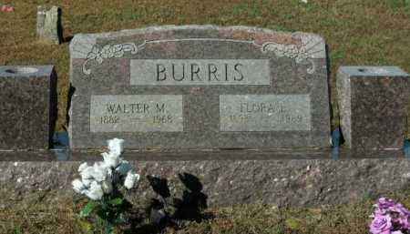 SCOTT BURRIS, FLORA L - Pope County, Arkansas | FLORA L SCOTT BURRIS - Arkansas Gravestone Photos