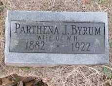 BYRUM, PARTHENA J. - Pope County, Arkansas | PARTHENA J. BYRUM - Arkansas Gravestone Photos