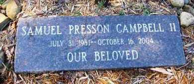 CAMPBELL, II, SAMUEL PRESSON - Pope County, Arkansas | SAMUEL PRESSON CAMPBELL, II - Arkansas Gravestone Photos
