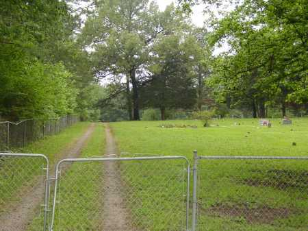 *CAMPGROUND CEMETERY GATE,  - Pope County, Arkansas |  *CAMPGROUND CEMETERY GATE - Arkansas Gravestone Photos