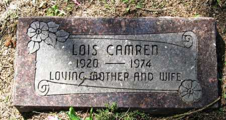CAMREN, LOIS - Pope County, Arkansas | LOIS CAMREN - Arkansas Gravestone Photos