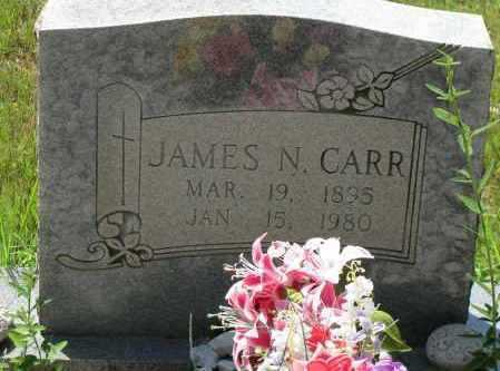 CARR, JAMES N - Pope County, Arkansas | JAMES N CARR - Arkansas Gravestone Photos