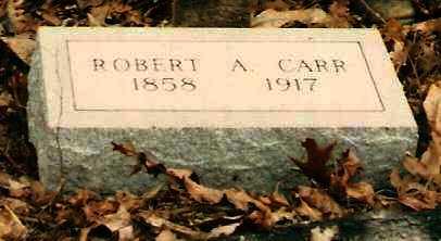 CARR, ROBERT A - Pope County, Arkansas | ROBERT A CARR - Arkansas Gravestone Photos