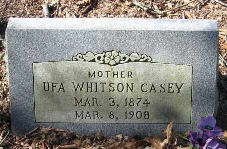WHITSON CASEY, UFA - Pope County, Arkansas | UFA WHITSON CASEY - Arkansas Gravestone Photos