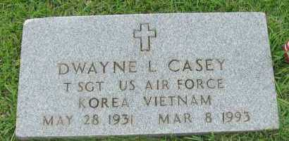 CASEY (VETERAN 2 WARS), DWAYNE L - Pope County, Arkansas | DWAYNE L CASEY (VETERAN 2 WARS) - Arkansas Gravestone Photos