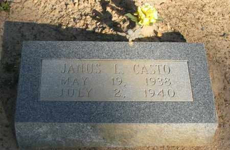 CASTO, JANUS L - Pope County, Arkansas | JANUS L CASTO - Arkansas Gravestone Photos