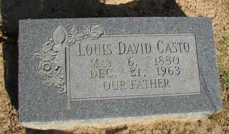 CASTO, LOUIS DAVID - Pope County, Arkansas | LOUIS DAVID CASTO - Arkansas Gravestone Photos
