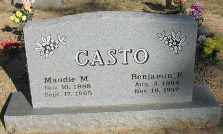 CASTO, BENJAMIN F - Pope County, Arkansas | BENJAMIN F CASTO - Arkansas Gravestone Photos