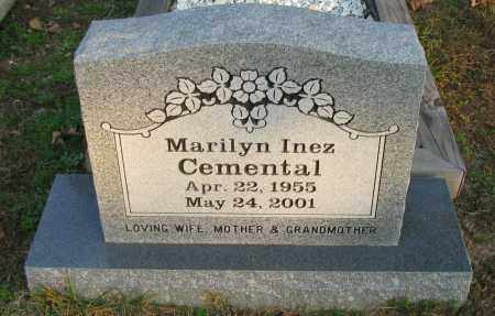 CEMENTAL, MARILYN INEZ - Pope County, Arkansas | MARILYN INEZ CEMENTAL - Arkansas Gravestone Photos