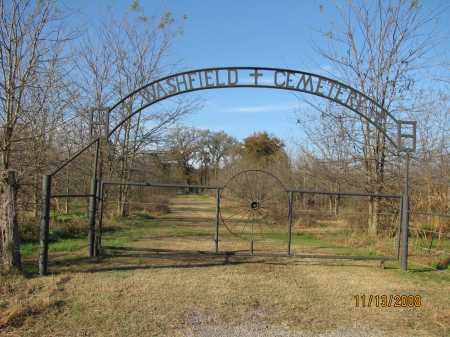 * WASHFIELD CEMETERY GATE,  - Pope County, Arkansas |  * WASHFIELD CEMETERY GATE - Arkansas Gravestone Photos