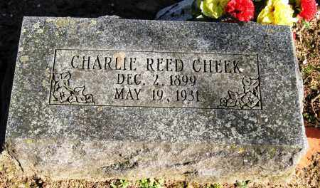 CHEEK, CHARLIE REED - Pope County, Arkansas | CHARLIE REED CHEEK - Arkansas Gravestone Photos