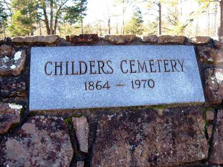 *CHILDERS CEMETERY 1864-1970,  - Pope County, Arkansas |  *CHILDERS CEMETERY 1864-1970 - Arkansas Gravestone Photos