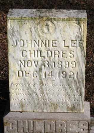 CHILDERS, JOHNNIE LEE - Pope County, Arkansas | JOHNNIE LEE CHILDERS - Arkansas Gravestone Photos