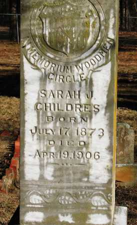 CHILDERS, SARAH J - Pope County, Arkansas | SARAH J CHILDERS - Arkansas Gravestone Photos