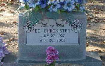 CHRONISTER, ED - Pope County, Arkansas | ED CHRONISTER - Arkansas Gravestone Photos