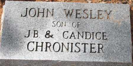 CHRONISTER, JOHN WESLEY - Pope County, Arkansas | JOHN WESLEY CHRONISTER - Arkansas Gravestone Photos
