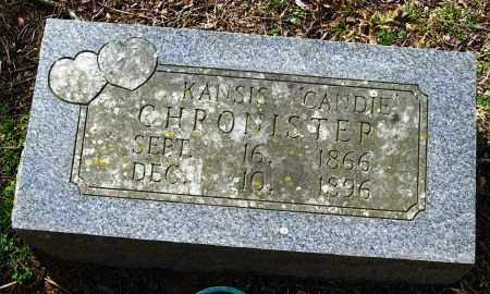"CHRONISTER, KANSIS ""CANDIE"" - Pope County, Arkansas 