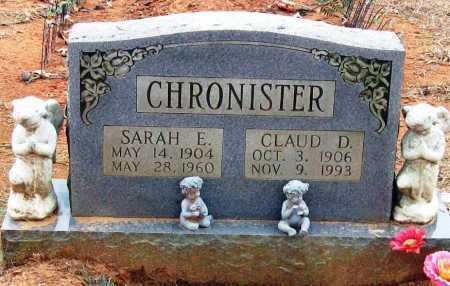 CHRONISTER, CLAUD D - Pope County, Arkansas | CLAUD D CHRONISTER - Arkansas Gravestone Photos