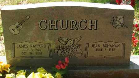 CHURCH, JAMES RAYFORD - Pope County, Arkansas | JAMES RAYFORD CHURCH - Arkansas Gravestone Photos