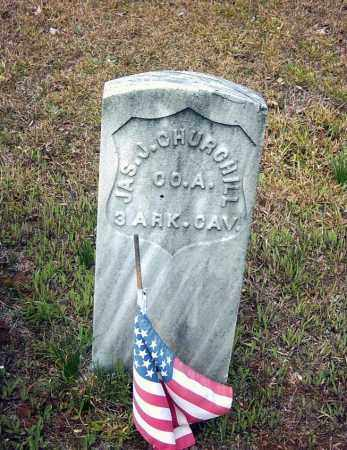 CHURCHILL (VETERAN UNION), JAMES J. - Pope County, Arkansas | JAMES J. CHURCHILL (VETERAN UNION) - Arkansas Gravestone Photos
