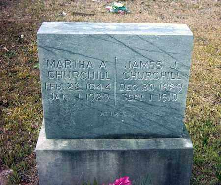 CHURCHILL, MARTHA A - Pope County, Arkansas | MARTHA A CHURCHILL - Arkansas Gravestone Photos