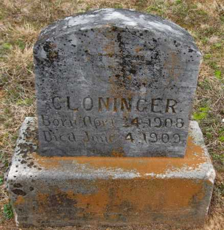 CLONINGER, HENRY - Pope County, Arkansas | HENRY CLONINGER - Arkansas Gravestone Photos