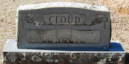 CLOUD, EULA M - Pope County, Arkansas | EULA M CLOUD - Arkansas Gravestone Photos