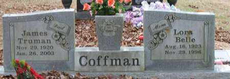 COFFMAN, JAMES TRUMAN - Pope County, Arkansas | JAMES TRUMAN COFFMAN - Arkansas Gravestone Photos