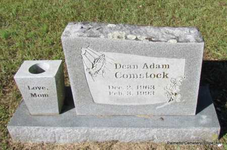 COMSTOCK, DEAN ADAM - Pope County, Arkansas | DEAN ADAM COMSTOCK - Arkansas Gravestone Photos
