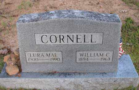 CORNELL, WILLIAM C - Pope County, Arkansas | WILLIAM C CORNELL - Arkansas Gravestone Photos