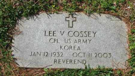 COSSEY (VETERAN KOR), LEE V - Pope County, Arkansas | LEE V COSSEY (VETERAN KOR) - Arkansas Gravestone Photos