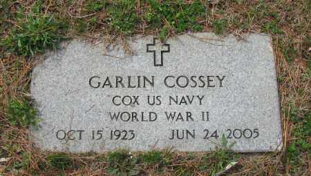 COSSEY (VETERAN WWII), GARLIN - Pope County, Arkansas | GARLIN COSSEY (VETERAN WWII) - Arkansas Gravestone Photos