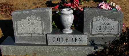 COTHREN, CASSIE - Pope County, Arkansas | CASSIE COTHREN - Arkansas Gravestone Photos