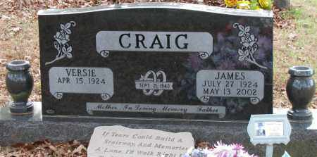 CRAIG, JAMES - Pope County, Arkansas | JAMES CRAIG - Arkansas Gravestone Photos
