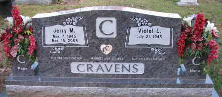 CRAVENS, JERRY M - Pope County, Arkansas | JERRY M CRAVENS - Arkansas Gravestone Photos