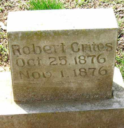 CRITES, ROBERT - Pope County, Arkansas | ROBERT CRITES - Arkansas Gravestone Photos