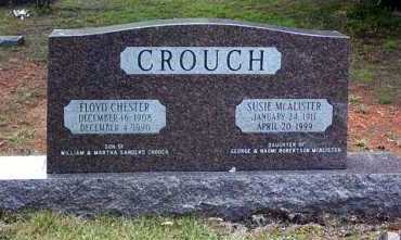 CROUCH, FLOYD CHESTER - Pope County, Arkansas | FLOYD CHESTER CROUCH - Arkansas Gravestone Photos