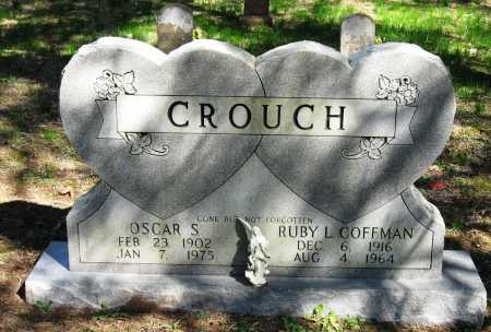 COFFMAN CROUCH, RUBY L. - Pope County, Arkansas | RUBY L. COFFMAN CROUCH - Arkansas Gravestone Photos