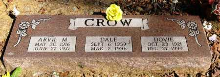 CROW, DALE - Pope County, Arkansas | DALE CROW - Arkansas Gravestone Photos