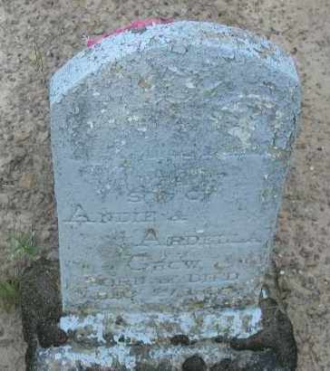 CROW, INFANT SON - Pope County, Arkansas | INFANT SON CROW - Arkansas Gravestone Photos