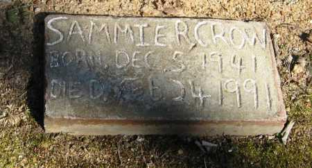 CROW, SAMMIE R - Pope County, Arkansas | SAMMIE R CROW - Arkansas Gravestone Photos