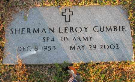 CUMBIE (VETERAN), SHERMAN LEROY - Pope County, Arkansas | SHERMAN LEROY CUMBIE (VETERAN) - Arkansas Gravestone Photos