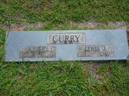 CURRY, LEWIS J. - Pope County, Arkansas | LEWIS J. CURRY - Arkansas Gravestone Photos