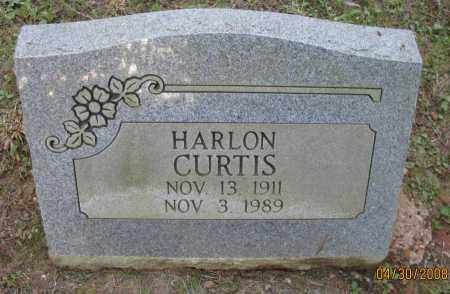 CURTIS, HARLON - Pope County, Arkansas | HARLON CURTIS - Arkansas Gravestone Photos