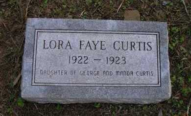 CURTIS, LORA FAYE - Pope County, Arkansas | LORA FAYE CURTIS - Arkansas Gravestone Photos