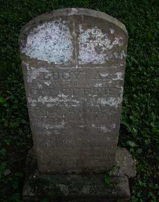 CURTIS, LUCY A - Pope County, Arkansas | LUCY A CURTIS - Arkansas Gravestone Photos